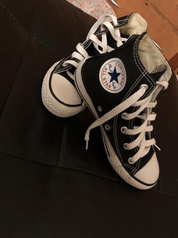 b37cb03827d Um lindo sapato allstar preto novo nunca foi usado - Roupas e ...