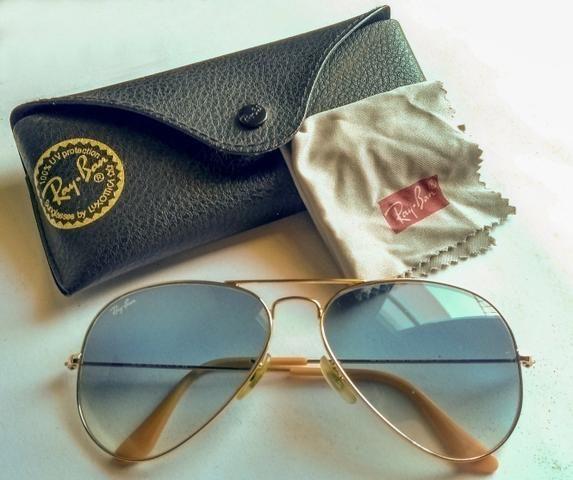 ab6e64582 Óculos Rayban Aviator Degradê 100% Original - Bijouterias, relógios ...