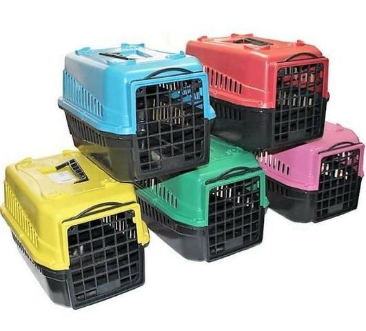 Caixa De Transporte Para Cães, Gatos e Coelhos