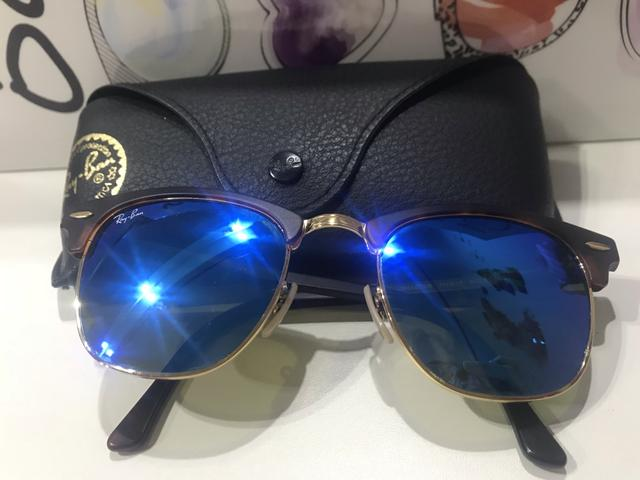 dd8854a7d Óculos de sol Ray Ban Clubmaster Original espelhado - Bijouterias ...
