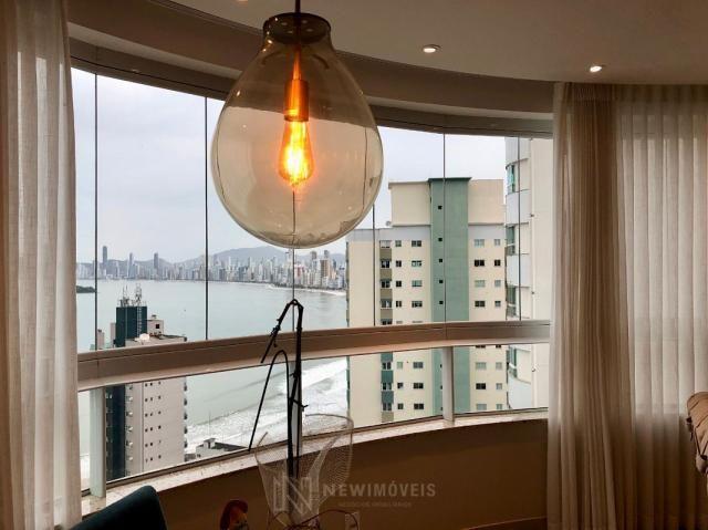 ***Apartamento Finamente Mobiliado com Vista Mar em Balneário Camboriú - Foto 4