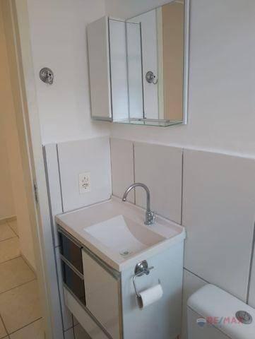 Apartamento com 2 dormitórios para alugar, 50 m² por R$ 880,00/mês - Rios di Itália - São  - Foto 11