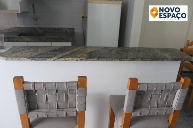 Apartamento com 1 dormitório para alugar, 40 m² por R$ 600/mês - Centro - Campos dos Goyta - Foto 13