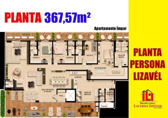 Villa Residence 367M² 04 Suítes - Foto 10
