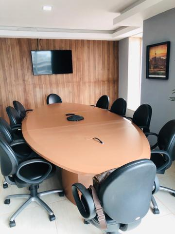 Sala mobiliada internet sem fiador e pagar e entrar r$ 999,0 coworking - Foto 13