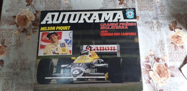 Autorama Nelson Piquet Corrida dos Campeões (Perfeito estado) - Foto 3