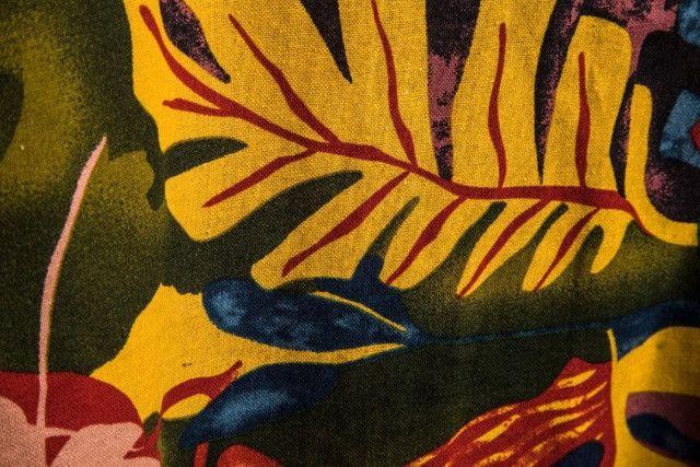 Camisa de Botão Masculina Shein - Floral Mostarda - Tamanho G - Foto 3
