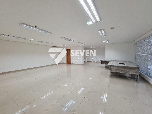 Sala com 91m2 no Edifício Atlantic Tower, Av. Djalma Batista, pronto para usar - Foto 3
