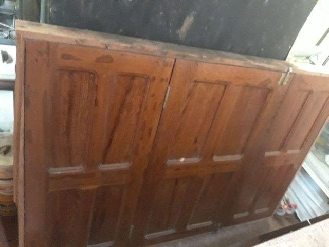 Vende-se tabiques,pernamancas,ripão,porta janelas completa  madeira de uma casa completa  - Foto 2