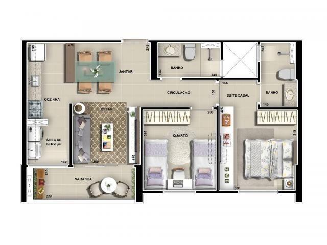 Apartamento à venda com 2 dormitórios em Eldorado, Cuiaba cod:23527 - Foto 9