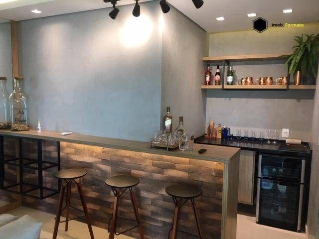 Apartamento Mobiliado com 3 suítes à venda, 142 m² por R$ 1.600.000 - Royal Park - Campo G - Foto 3