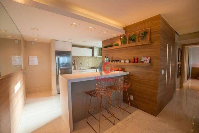 Apartamento com 2 dormitórios à venda, 63 m² por R$ 310.000,00 - Glória - Macaé/RJ - Foto 11