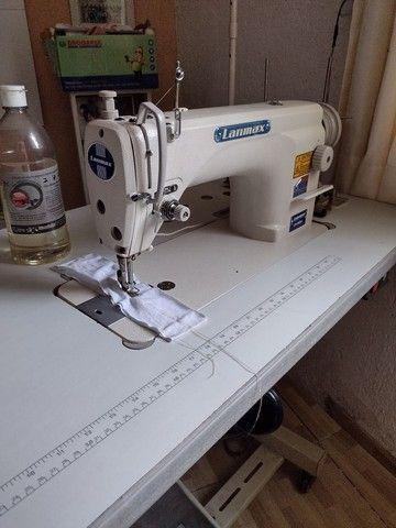 Máquina reta industrial LANMAX semi nova - Foto 3