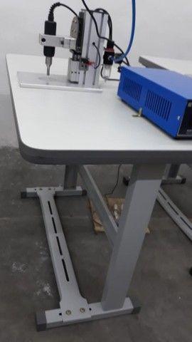 Máquina de solda por ultrassom para soldagem de elástico  - Foto 2