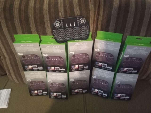 VÁRIOS MINI TECLADO PRA TV BOX,  SMARTV, NOTEBOOK, PC e VÍDEO GAME  - Foto 3