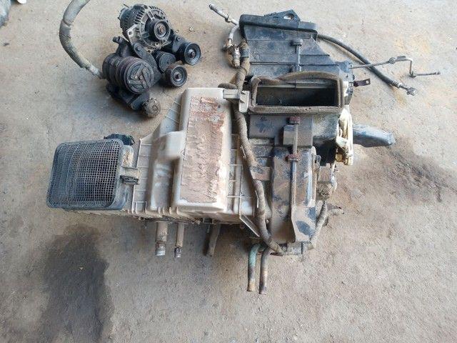 Caixa evaporadora do Gol G2 Parati Saveiro carro com ar valor 350