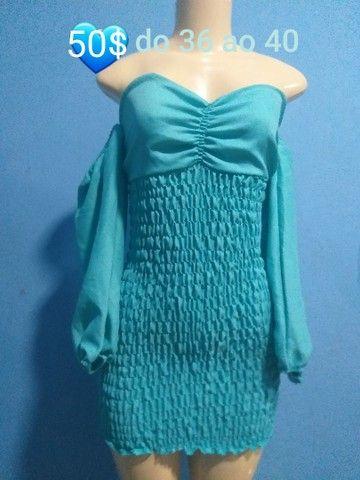 Lindos conjuntos e vestido lastex  - Foto 5