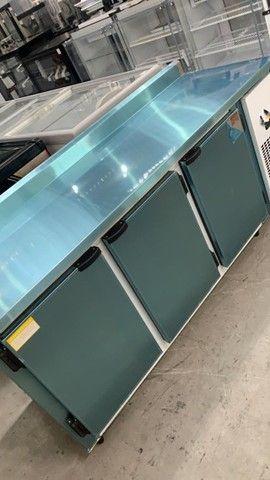 v- Balcão inox refrigerado para sua cozinha industrial - Foto 5