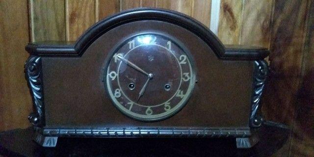 Relógio 1/2 carrilhão antigo funcionando !!! - Foto 2
