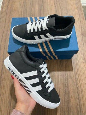 Promoção sapatênis Adidas e Tênis Adidas ( 115 com entrega)