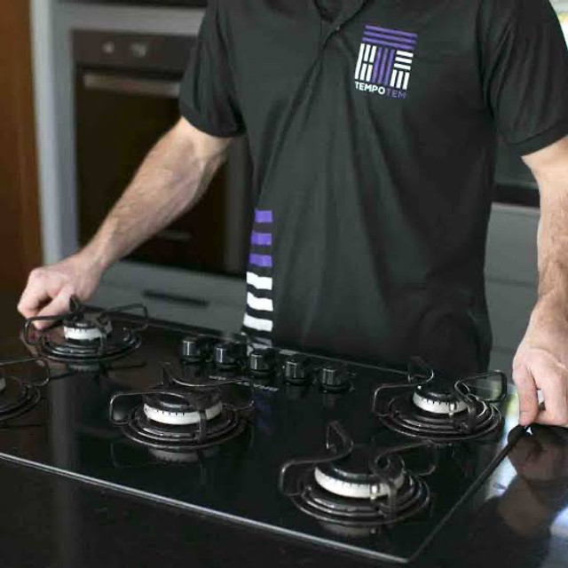 Instalador de fogão para gás encanado