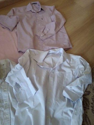 Lote camisas Tam 3 adulto - Foto 4