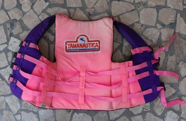 Colete salva vidas yamanautica 60kg  - Foto 3