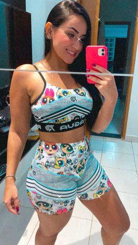Conjunto academia fitness  - Foto 2