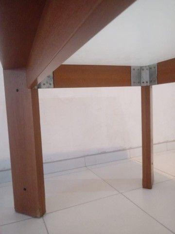 Mesa com vidro medidas na descriçao - Foto 5