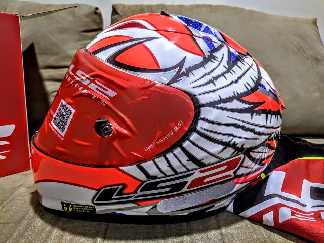 Capacete LS2 FF323 Arrow R Freedom - Foto 4