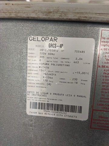 Geladeira/Refrigerador Comercial Gelopar GRCS-4P - Foto 3