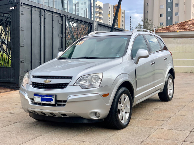 Chevrolet Captiva 2.4 Sport Fwd - Interna Caramelo