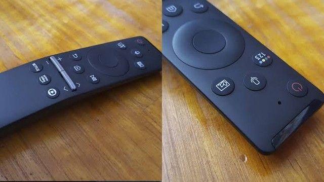 "Samsung Smart TV QLED 4K Q80T 55"", Pontos Quânticos , Borda Infinita. 120 hz Hdmi 2.1.  - Foto 3"