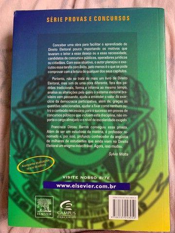 Livro de Direito Eleitoral Usado  - Foto 2