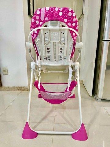 Cadeira alimentação Pocket Lunch pink  Chicco - Foto 3