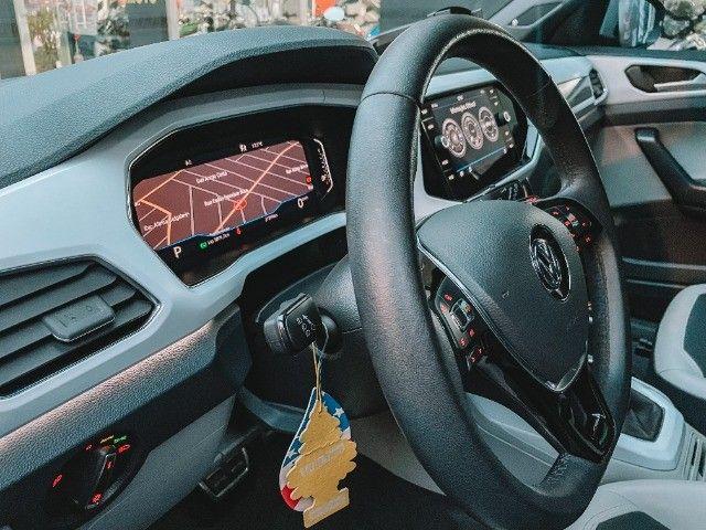 VW T-Cross (2020) Cinza - Versão TOP de Linha Highline com Parl Assist, Som Beats ! - Foto 11