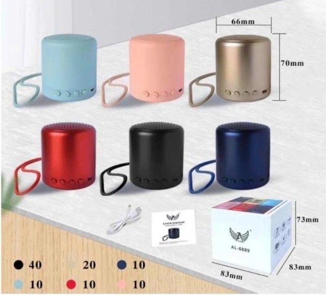 Mini Caixa de Som Bluetooth 3W AL-6889 - Altomex - Foto 5
