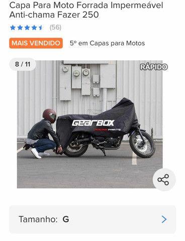 Capa para moto Bigtrail - Foto 4