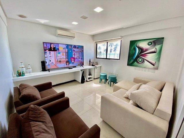 Apartamento para venda possui 200 metros quadrados com 3 suites mais dce.Ponta Verde - Mac - Foto 6