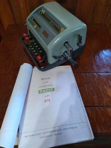 Raridade !!! Calculadora antiga funcionando !!!