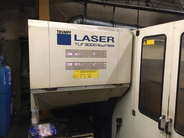 Máquina de Corte a Laser Trumpf 3030 ? 3000W
