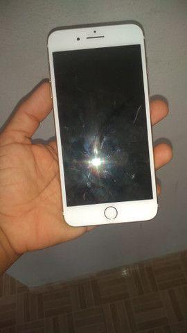 Carcaça de iPhone 7plus gold