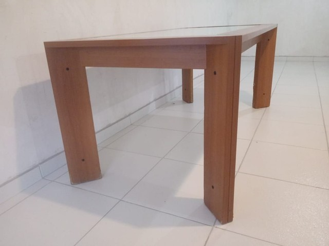 Mesa com vidro medidas na descriçao - Foto 4