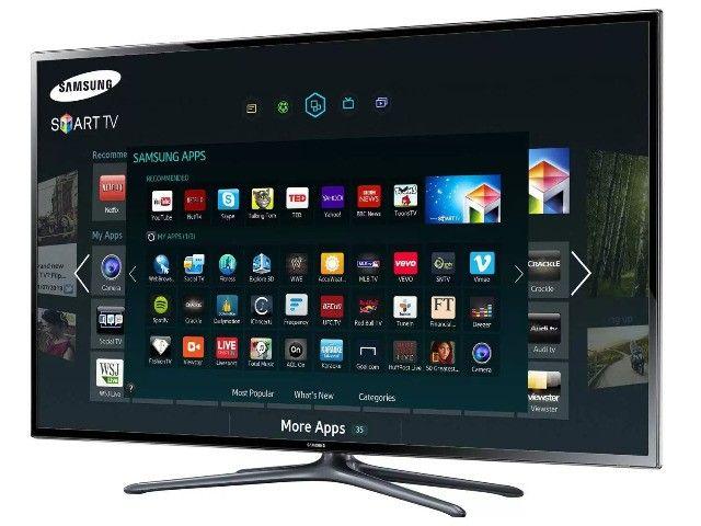 Smart Tv Slim Led 3d 46 Samsung un46f6400 Full Hd - Foto 5