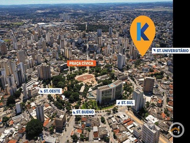 Apartamento à venda com 2 dormitórios em Setor central, Goiânia cod:5370 - Foto 2