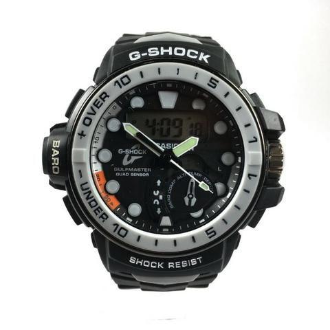 5faf9a9b50d Relógio Casio G-Shock Preto com Cinza - Bijouterias