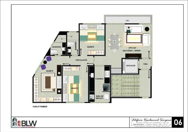 Apartamento à venda, 3 quartos, 2 vagas, barreiro - belo horizonte/mg - Foto 11