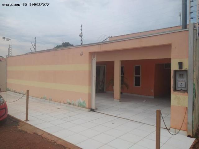 Casa para Venda em Várzea Grande, Ouro Verde, 3 dormitórios, 1 suíte, 3 banheiros, 4 vagas - Foto 2