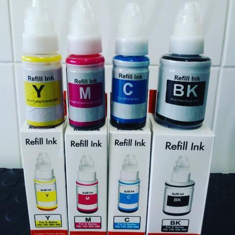 Tinta Corante para Impressora com Bulk Ink / Epson / Canon / HP - Qualidade Fotográfica - Foto 3