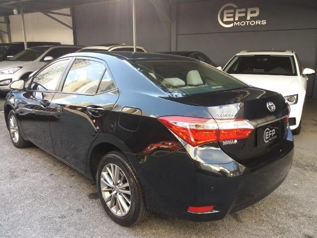 Toyota Corolla 2015 2.0 Xei Preto Flex Automatico Impecavel - Foto 3